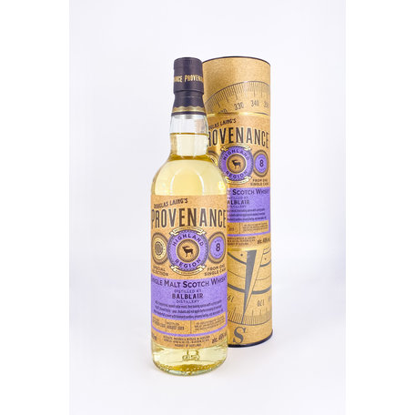 Balblair, 2010, 8 Year Old, Provenance, 46%