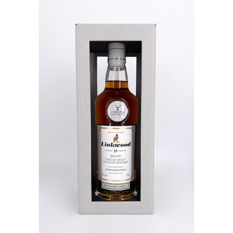 Linkwood 25 Year Old, Gordon & MacPhail, 43%