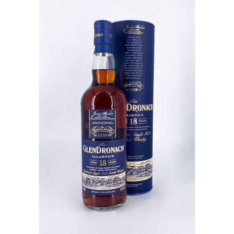 GlenDronach 18 Year Old, Allardice, 46%