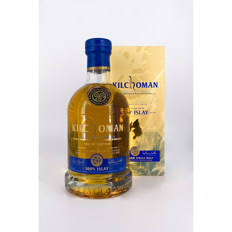 Kilchoman 100% Islay 10th Edition, 50%