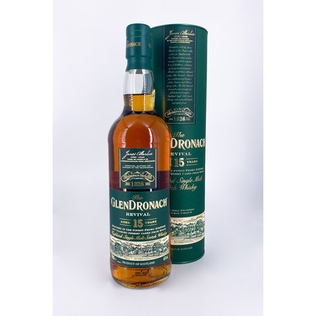 GlenDronach Revival 15 Year Old, 46%