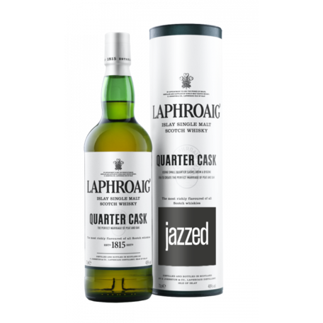 Laphroaig Quarter Cask with annual jazzed+ sub, 70cl, 48%