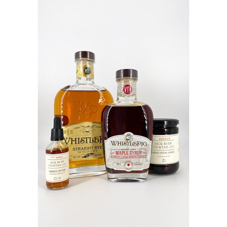 WhistlePig Old Fashioned Set (with 70cl WhistlePig 10 Year Old, 50%)