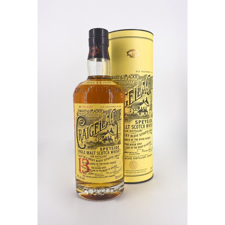 Craigellachie 13 Year Old, 46%, 70cl