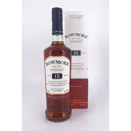 Bowmore 15 Year Old Darkest, 43%
