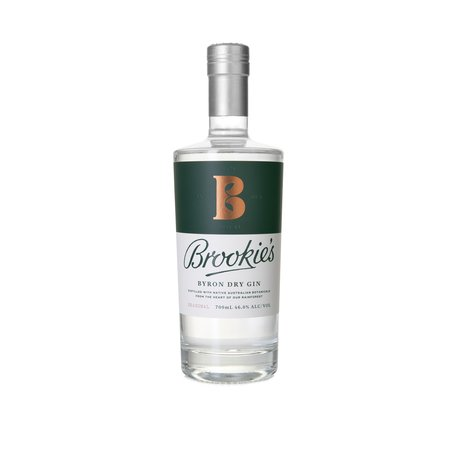 Brookie's Byron Dry Gin, 46%