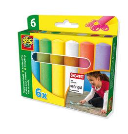 SES Creative Stoepkrijt 6 pack