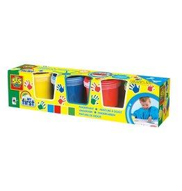 SES Creative My First - Fingerfarbe 4 Farben x 150ml