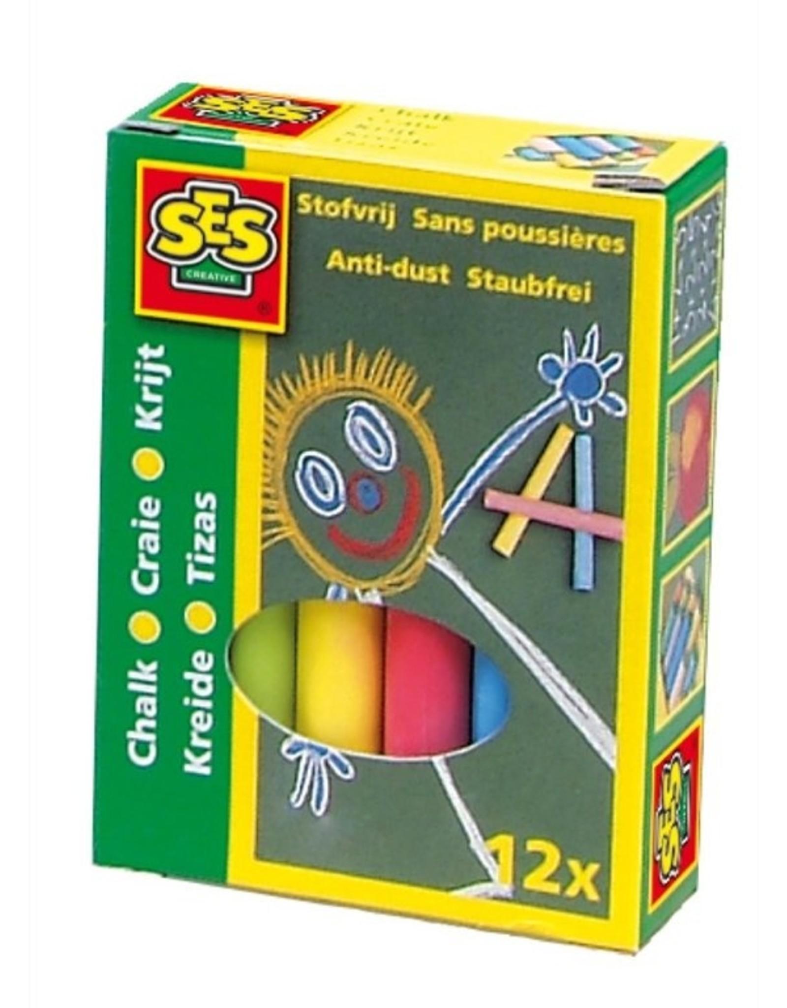 SES Creative Kreide 12 Farben