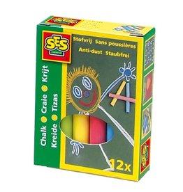 SES Creative Krijt 12 kleuren