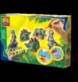 SES Creative Casting en Painting - Dinosaures