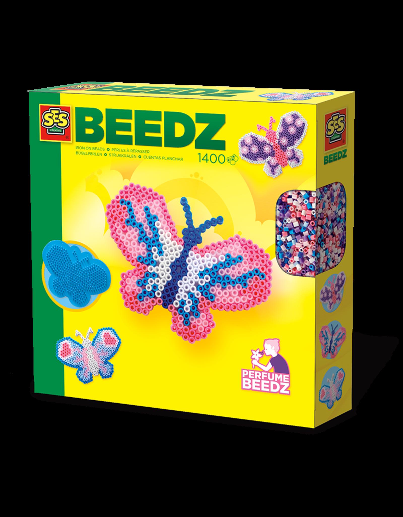 SES Creative Bügelperlenset duftende Schmetterlinge