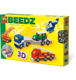 SES Creative Beedz - Iron on Beads 3D Vehicles