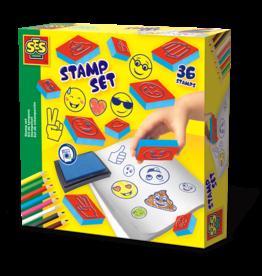 SES Creative Stempelset - Emoticons