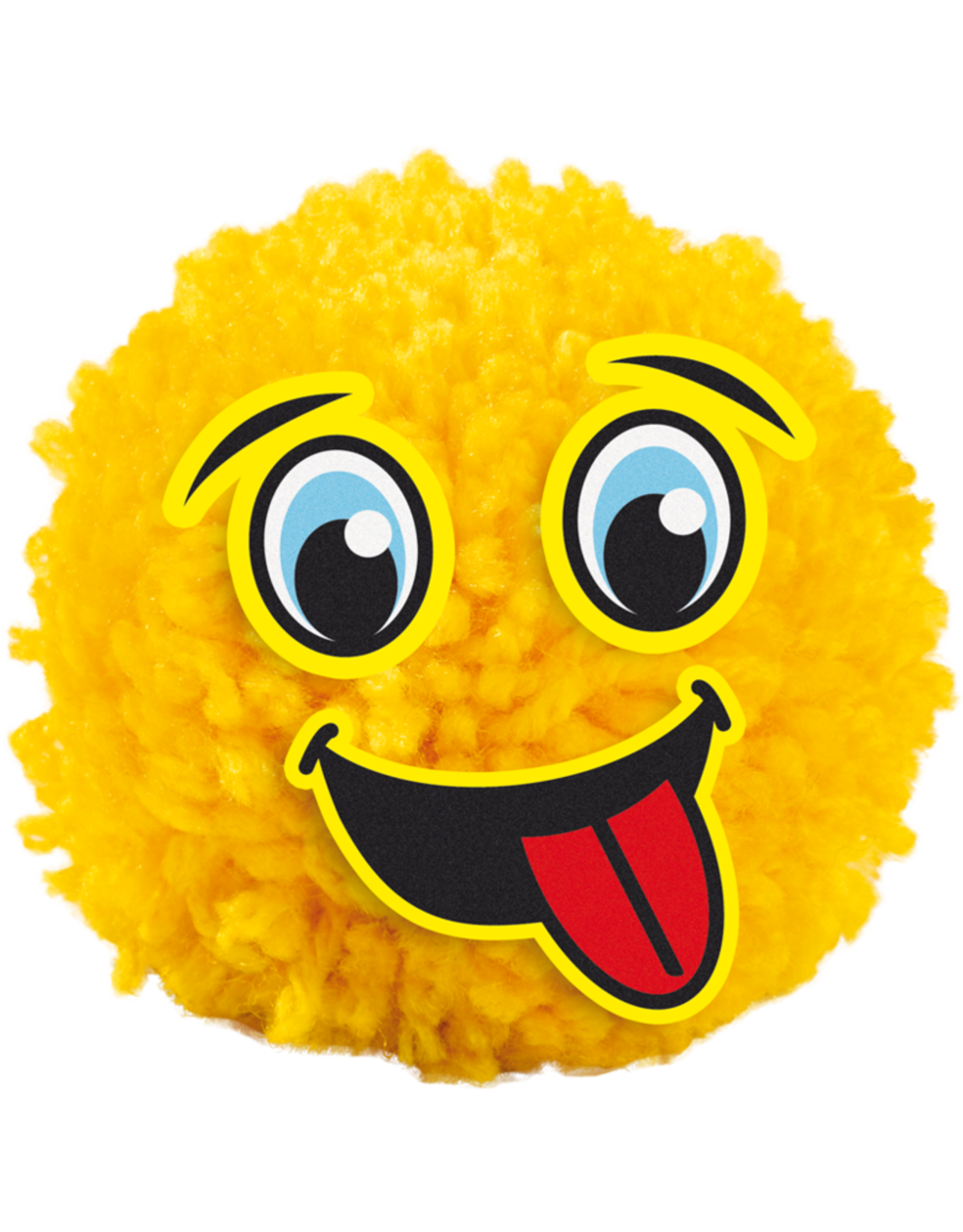 SES Creative Pompom-Emoticons