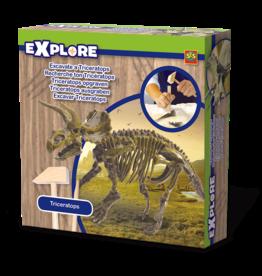 SES Creative Triceratops ausgraben