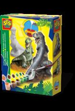 SES Creative Gieten en schilderen - T-rex