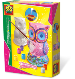SES Creative Casting and Painting - Owl