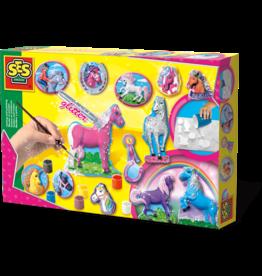 SES Creative Gießen und anmalen - Fantasy Pferde