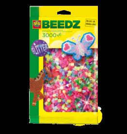 SES Creative Iron on beads 3000 pcs glitter