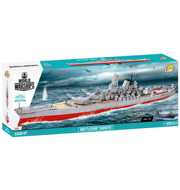 COBI COBI World of Warships 3083 Battleship Yamato