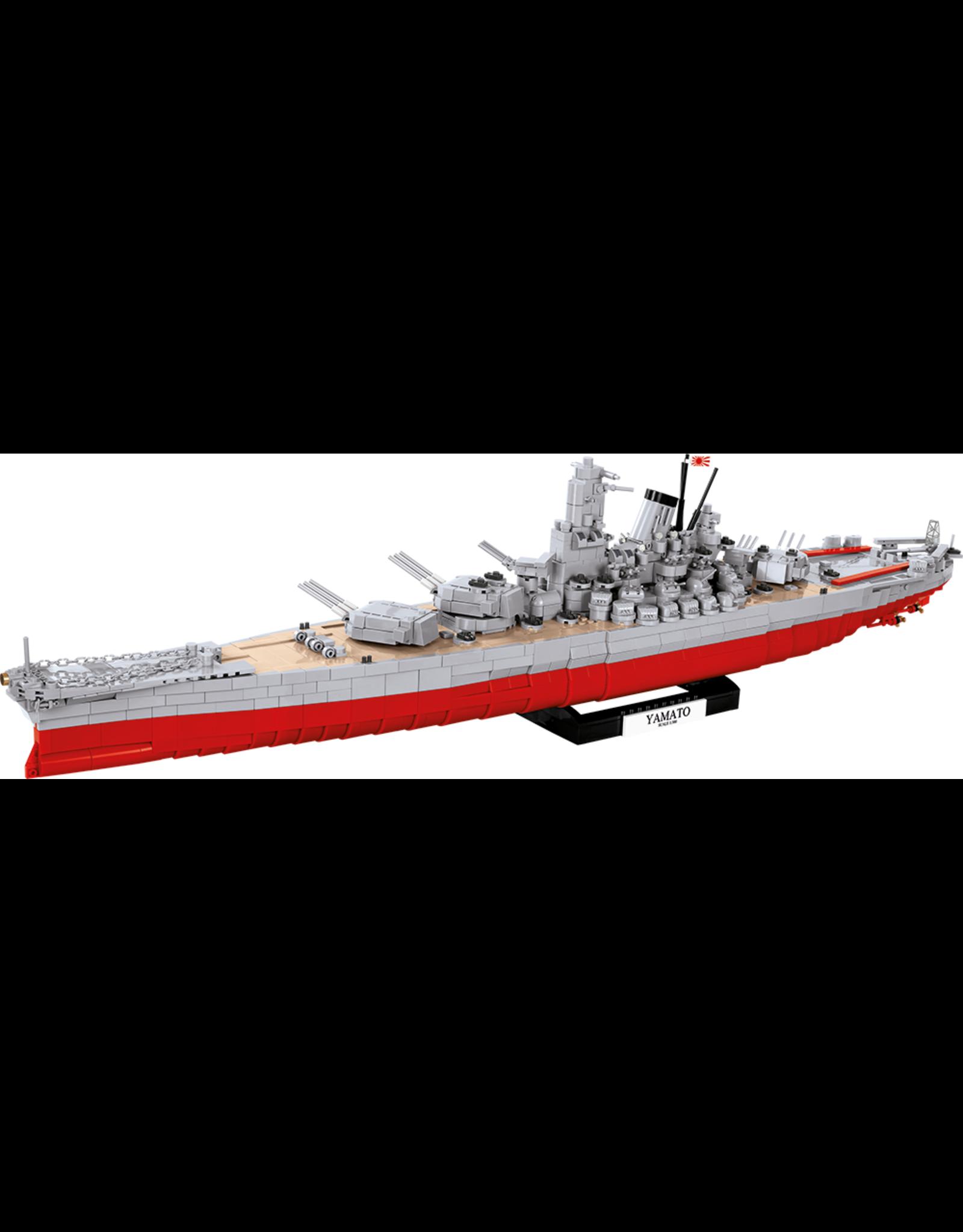 COBI COBI World of Warships 3083 Battleship Yamato