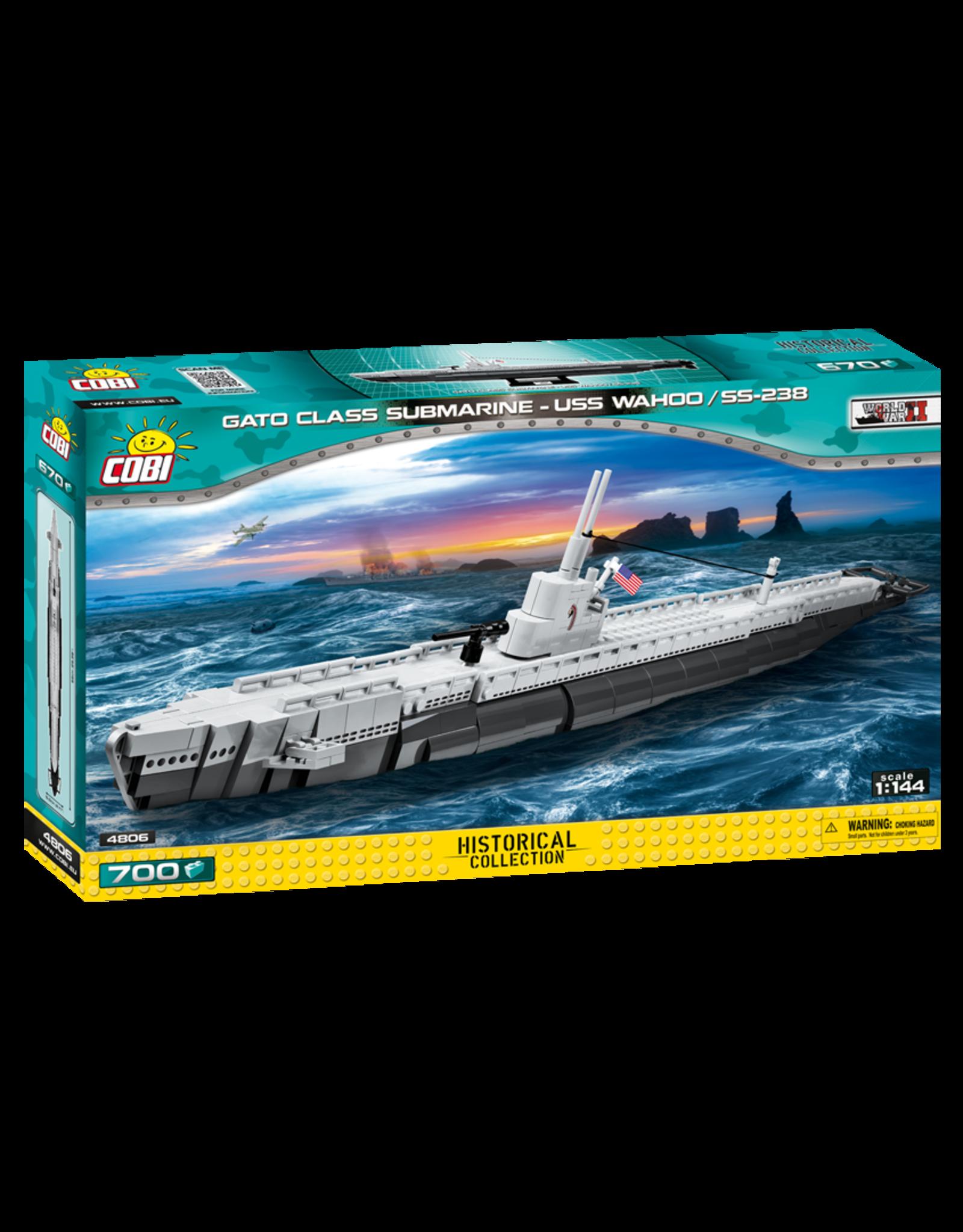 COBI COBI  WW2  4806 - GATO Class Submarine USS Wahoo SS-238