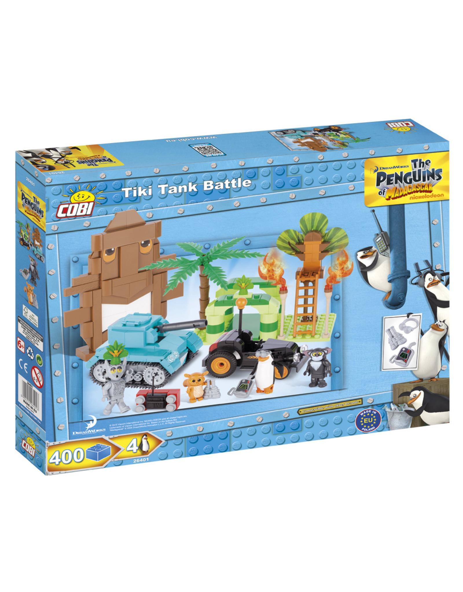 COBI COBI Penguins 26401 - Tiki Tank Gevecht