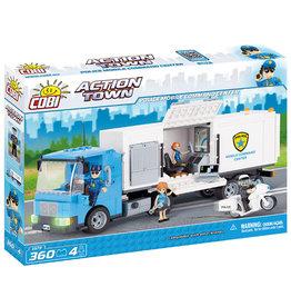 COBI COBI - Action Town 1573 - Politie Mobiele Controlekamer
