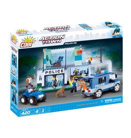COBI COBI - Action Town 1574 - Politie Hoofdbureau