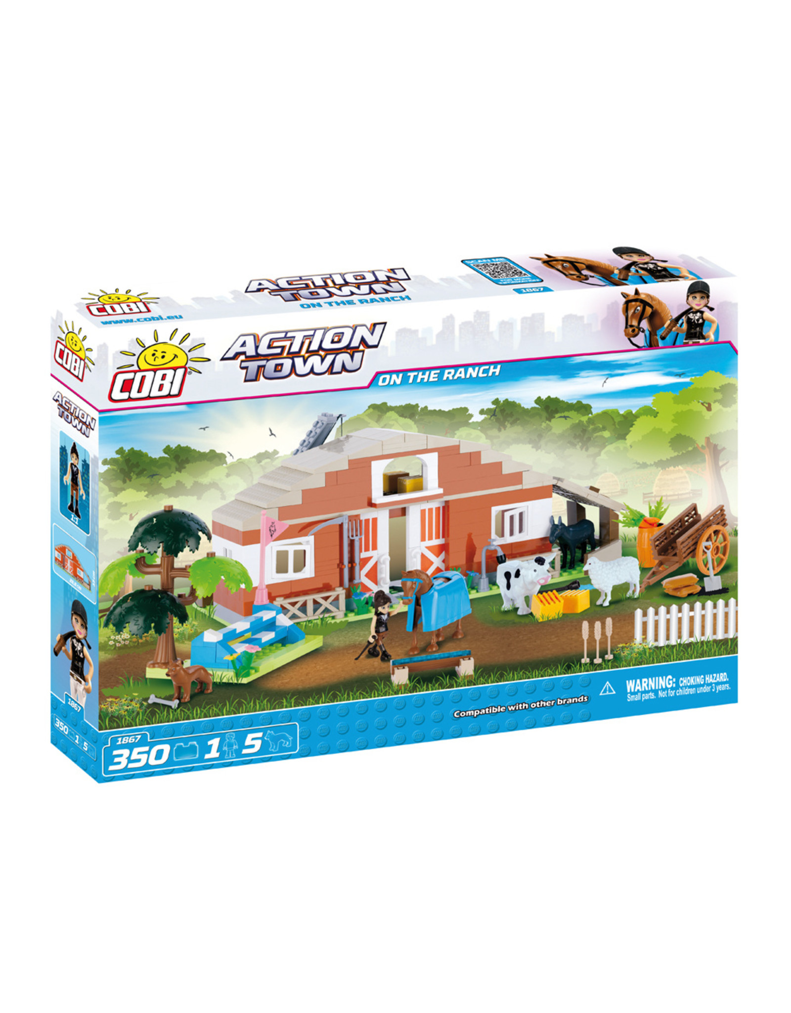COBI COBI Action Town 1867 - on the Ranch