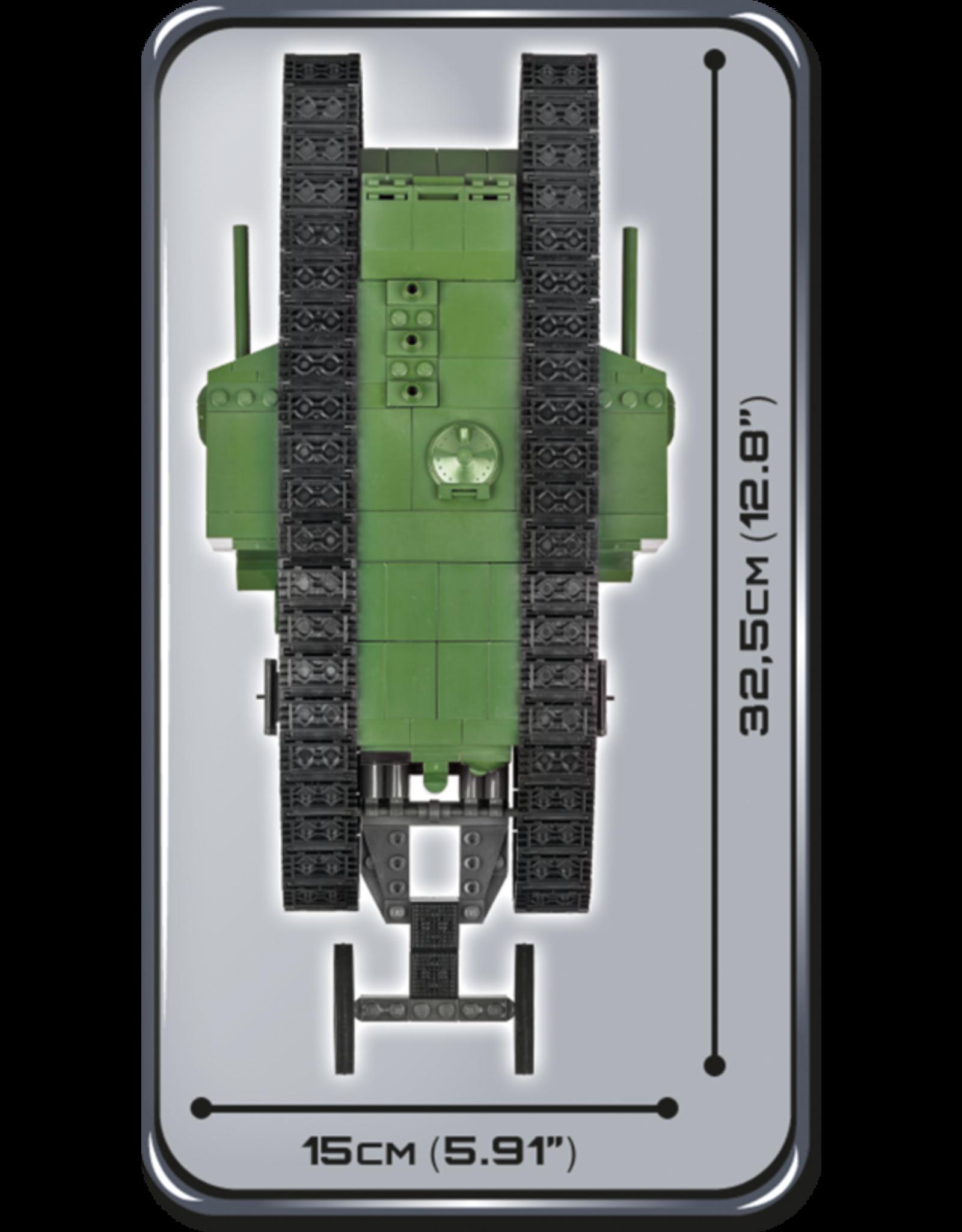 COBI COBI WW1 2972 - Tank Mark I