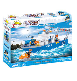 COBI COBI - Action Town 1577- Police Patrol Boat