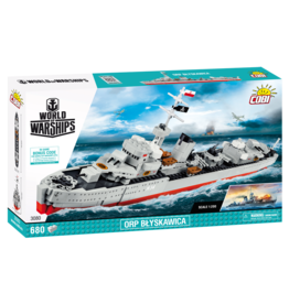 COBI COBI World of Warships 3080 ORP Blyskawica