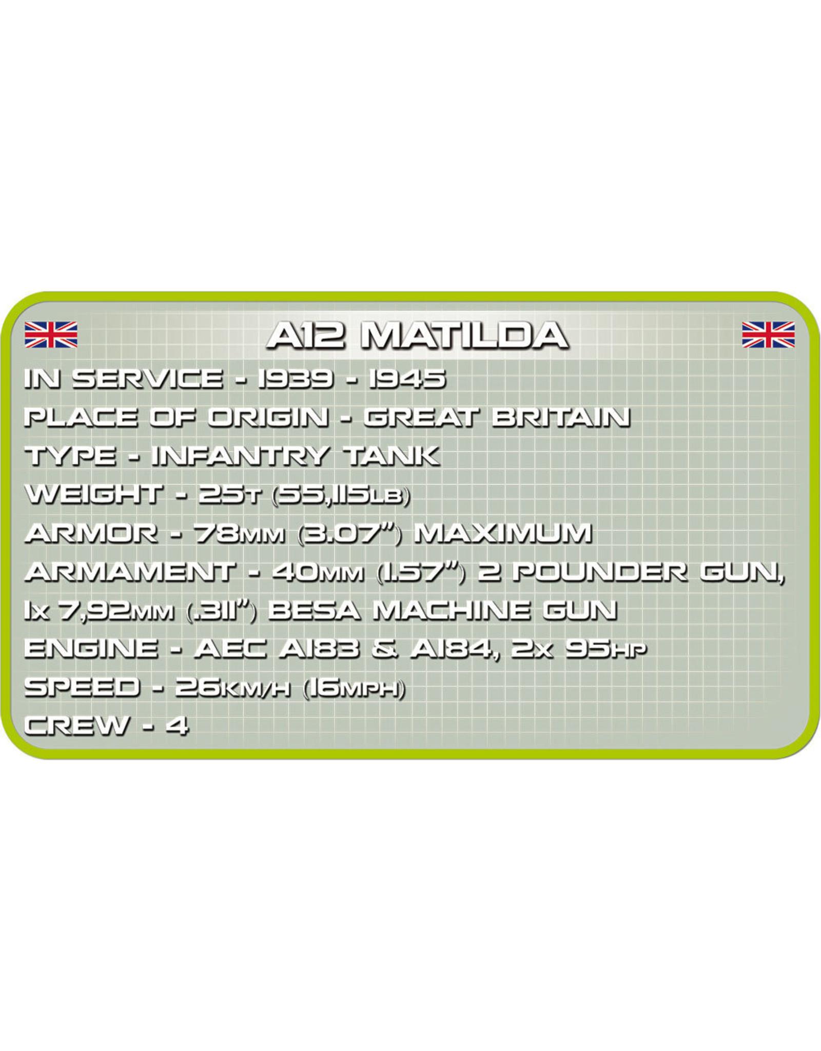 COBI COBI  WW2 2495 A12 Matilda