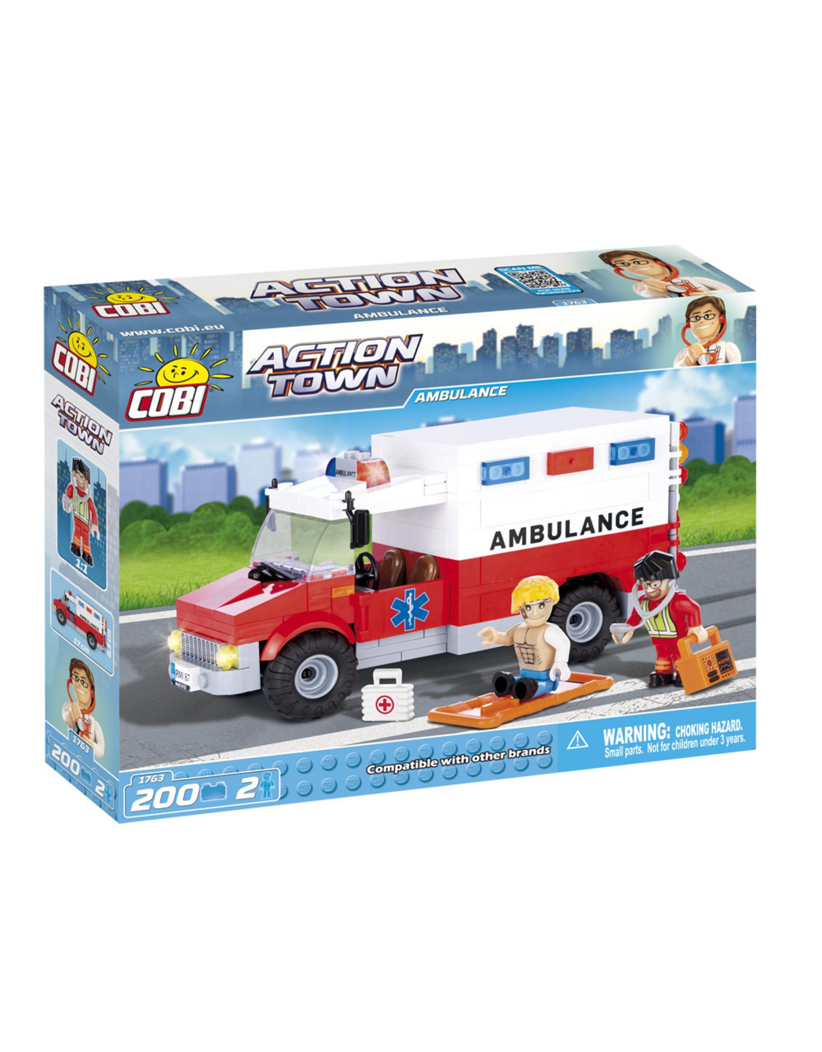 COBI COBI Action Town 1763 - Ambulance