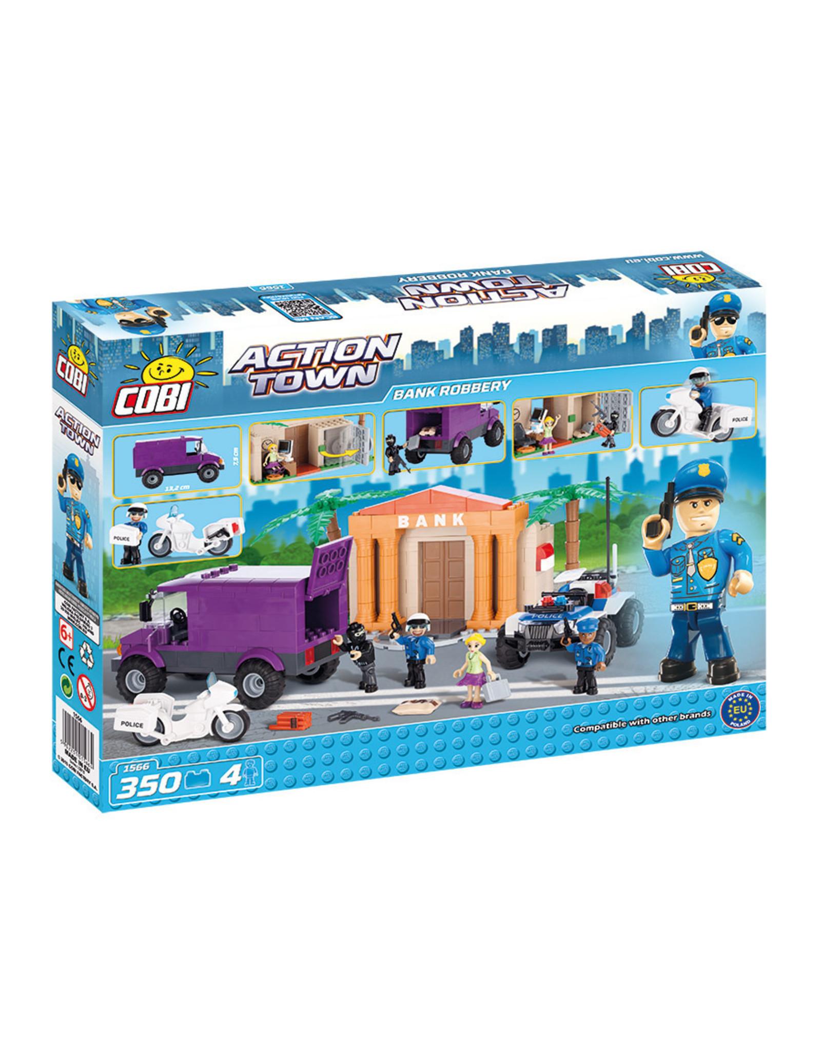 COBI COBI - Action Town 1566 - Bankoverval