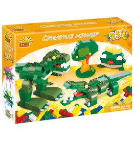 COBI COBI - Creative Power  20252 - 250 Blocks - Green Animals