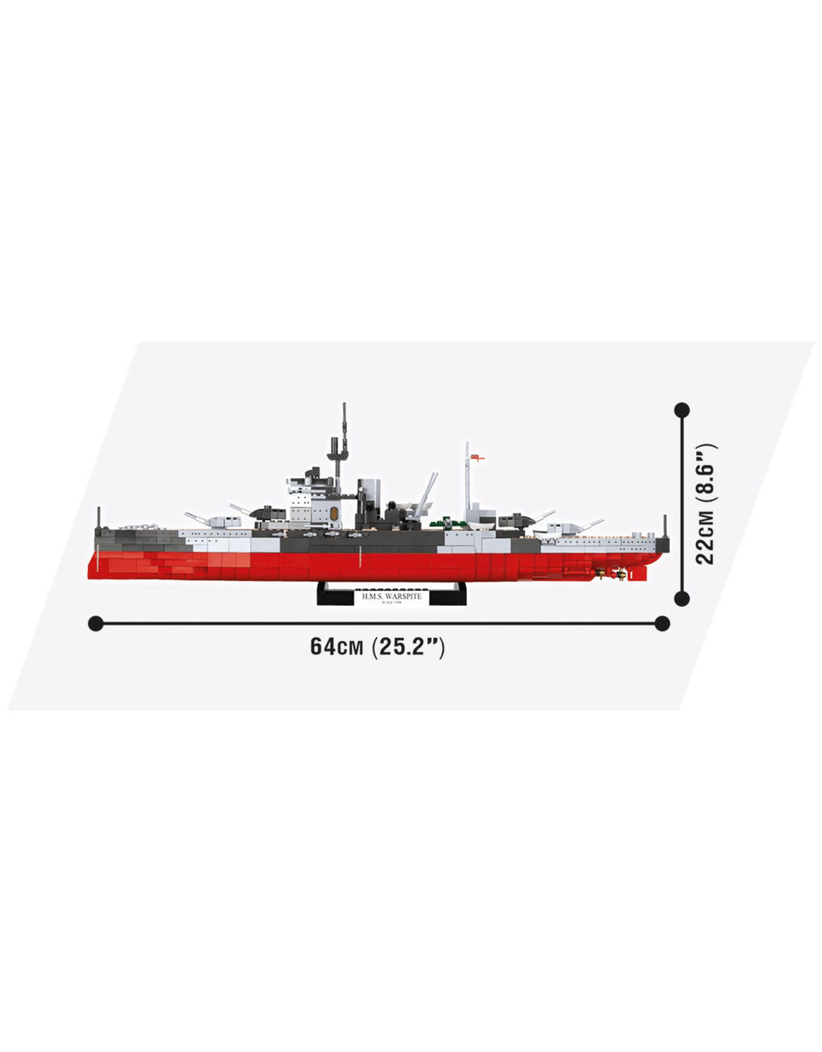 COBI COBI World of Warships 3082 HMS Warspite