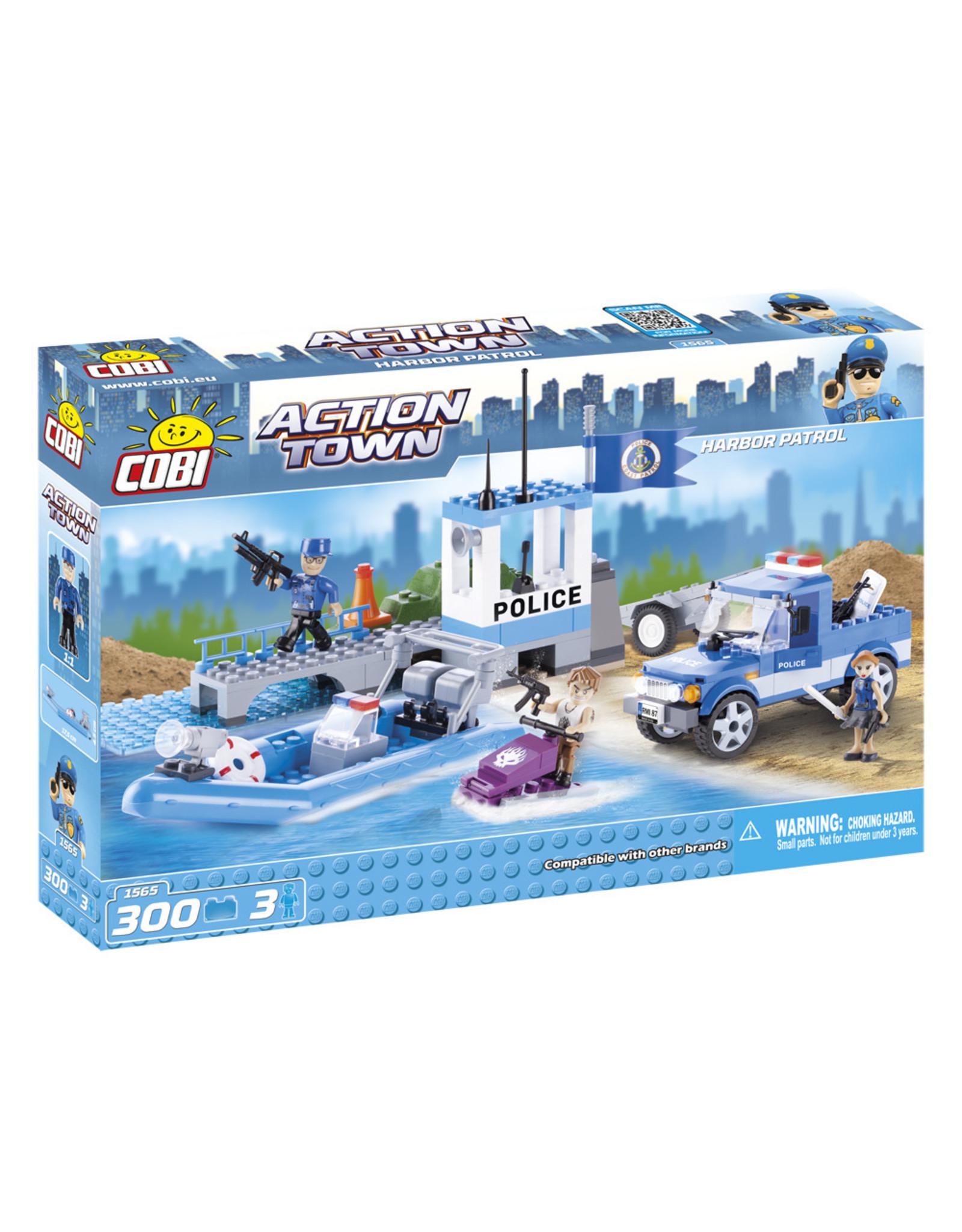 COBI COBI - Action Town 1565 - Havenpatrouille