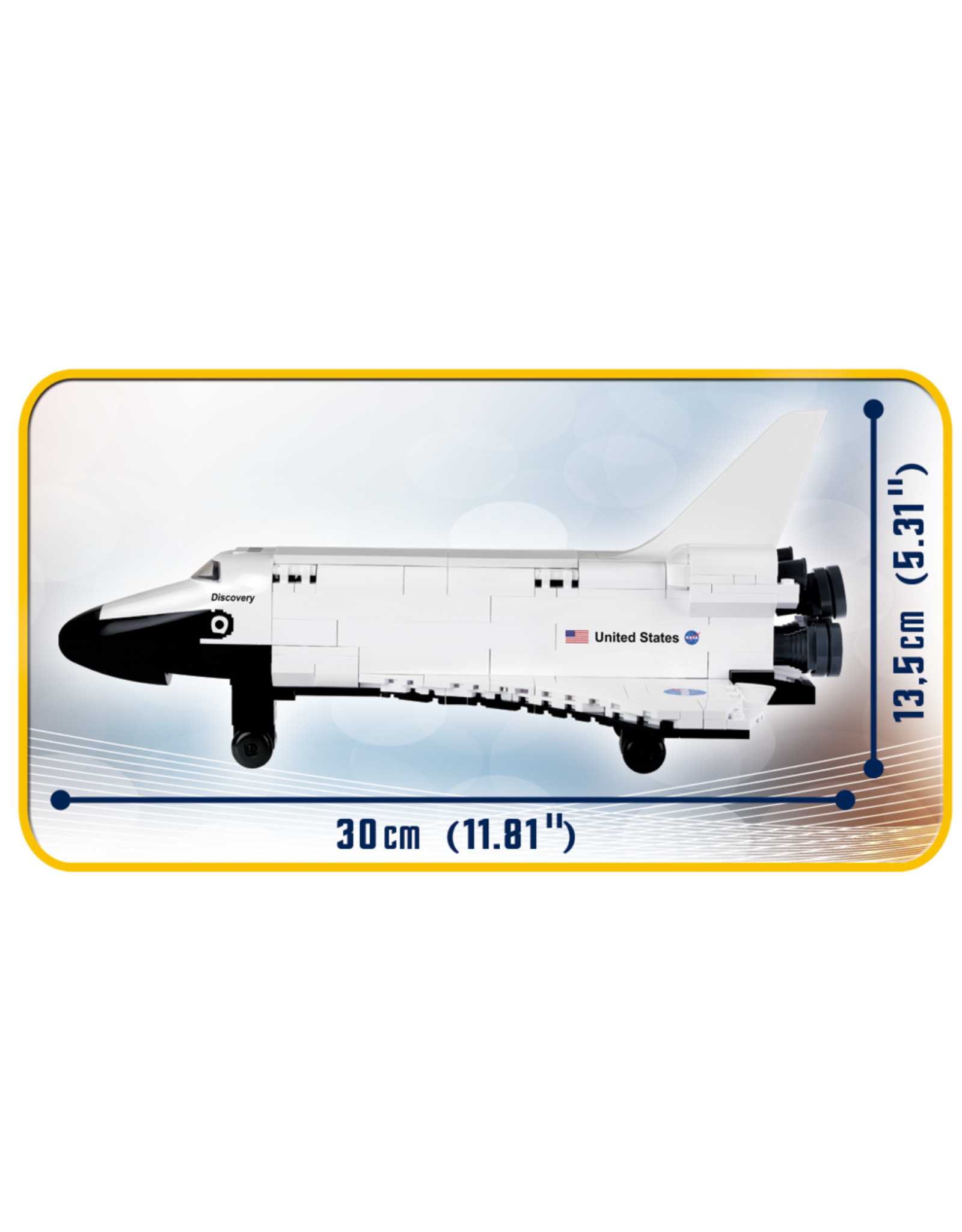 COBI COBI Space Shuttle Discovery 21076