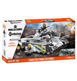 COBI COBI World of Tanks 3034 Sabaton Primo Victoria