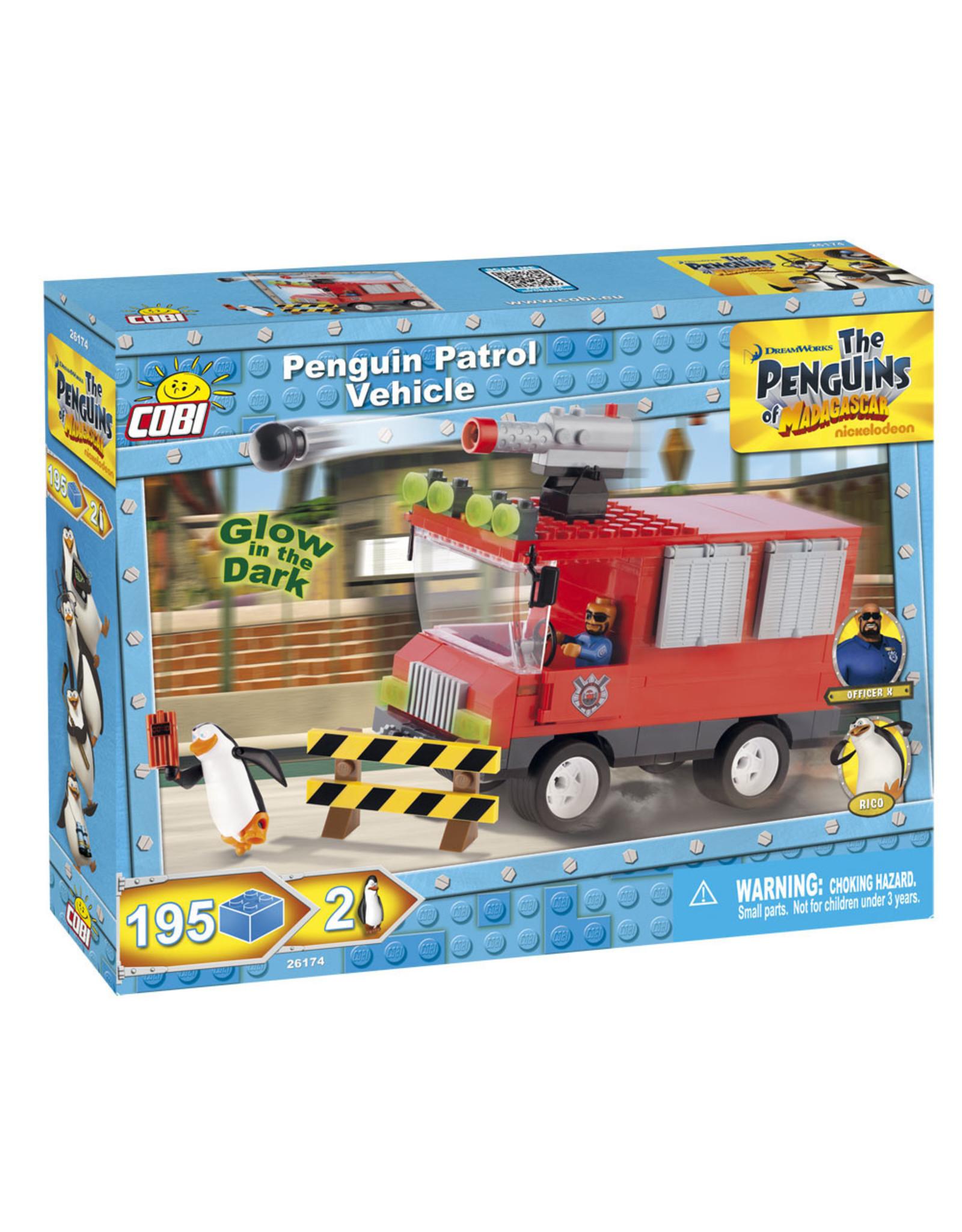 COBI COBI Penguins 26174 - Penguins Patrouille voertuig