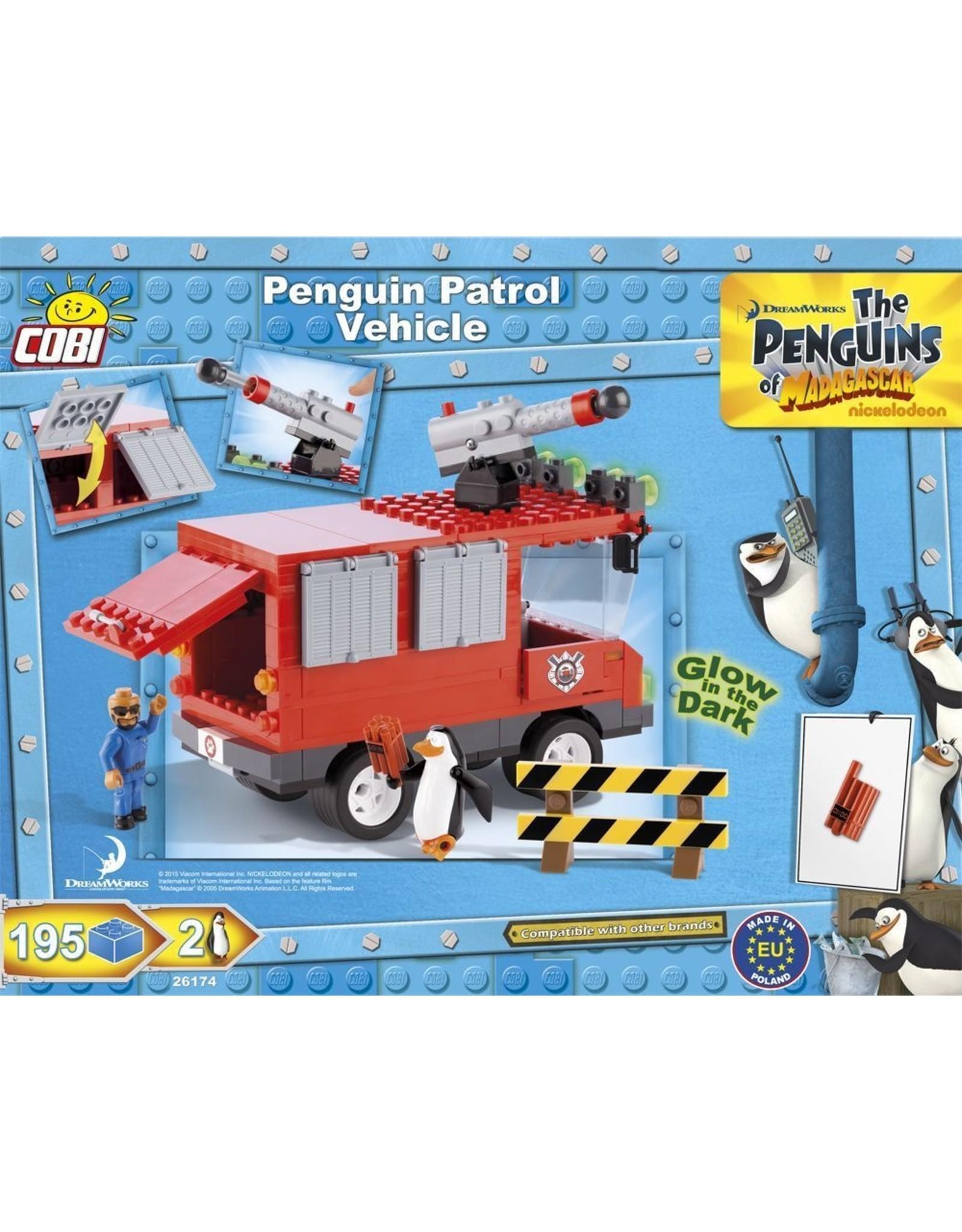 COBI COBI Penguins 26174 - Penguin Patrol Vehicle