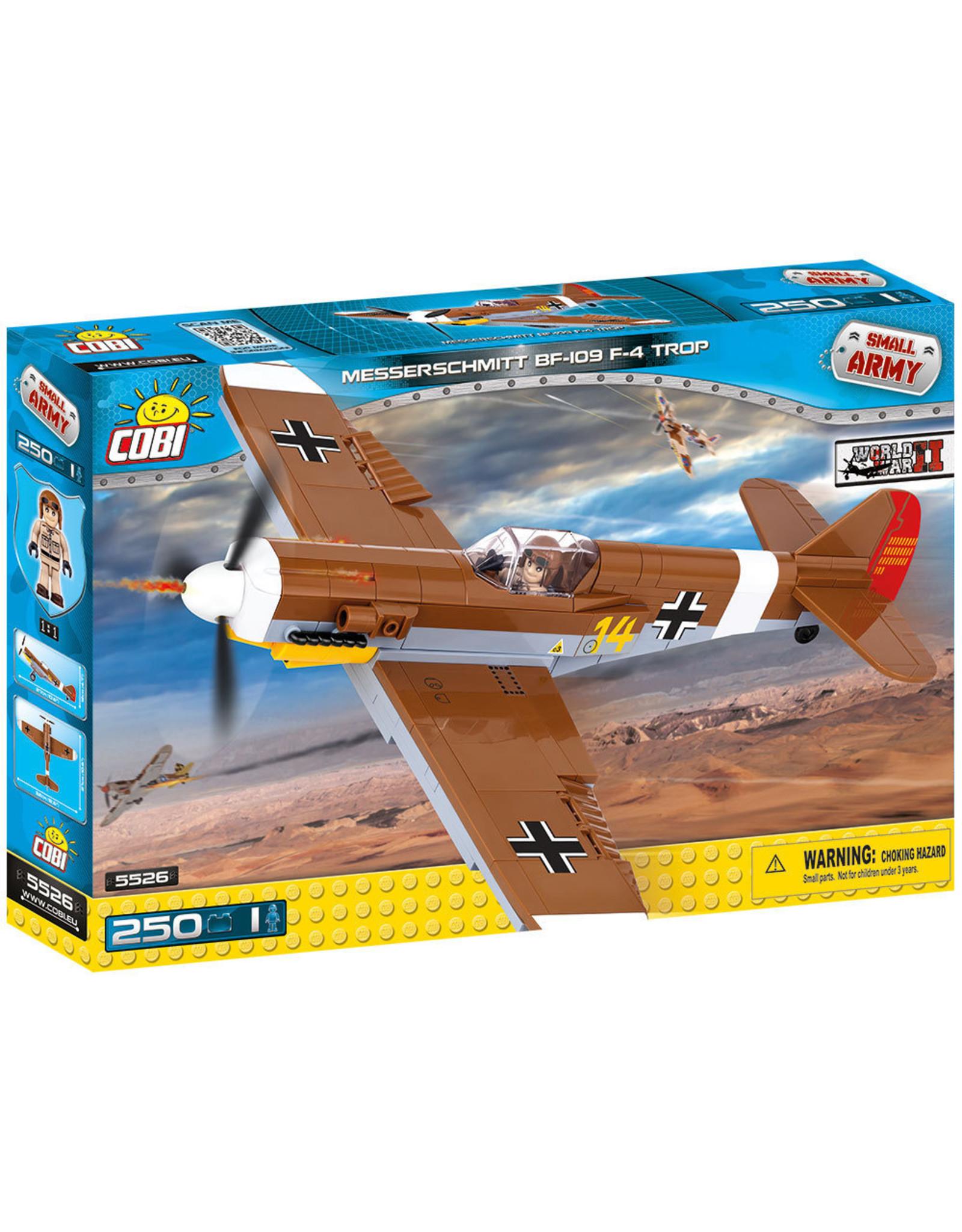 COBI COBI  WW2 5526 - Messerschmitt BF109 Trop