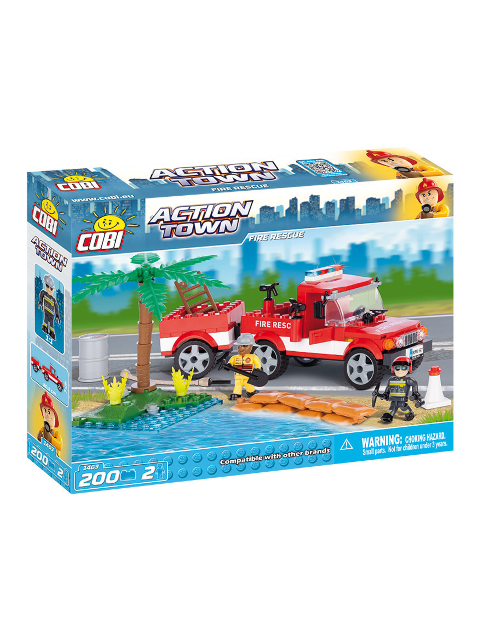 COBI COBI - Action Town 1463 - Brandweer Reddingsdienst