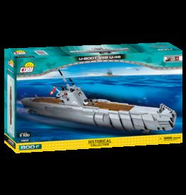 COBI COBI  Schepen WW2  4805 - U Boot VIIB U48