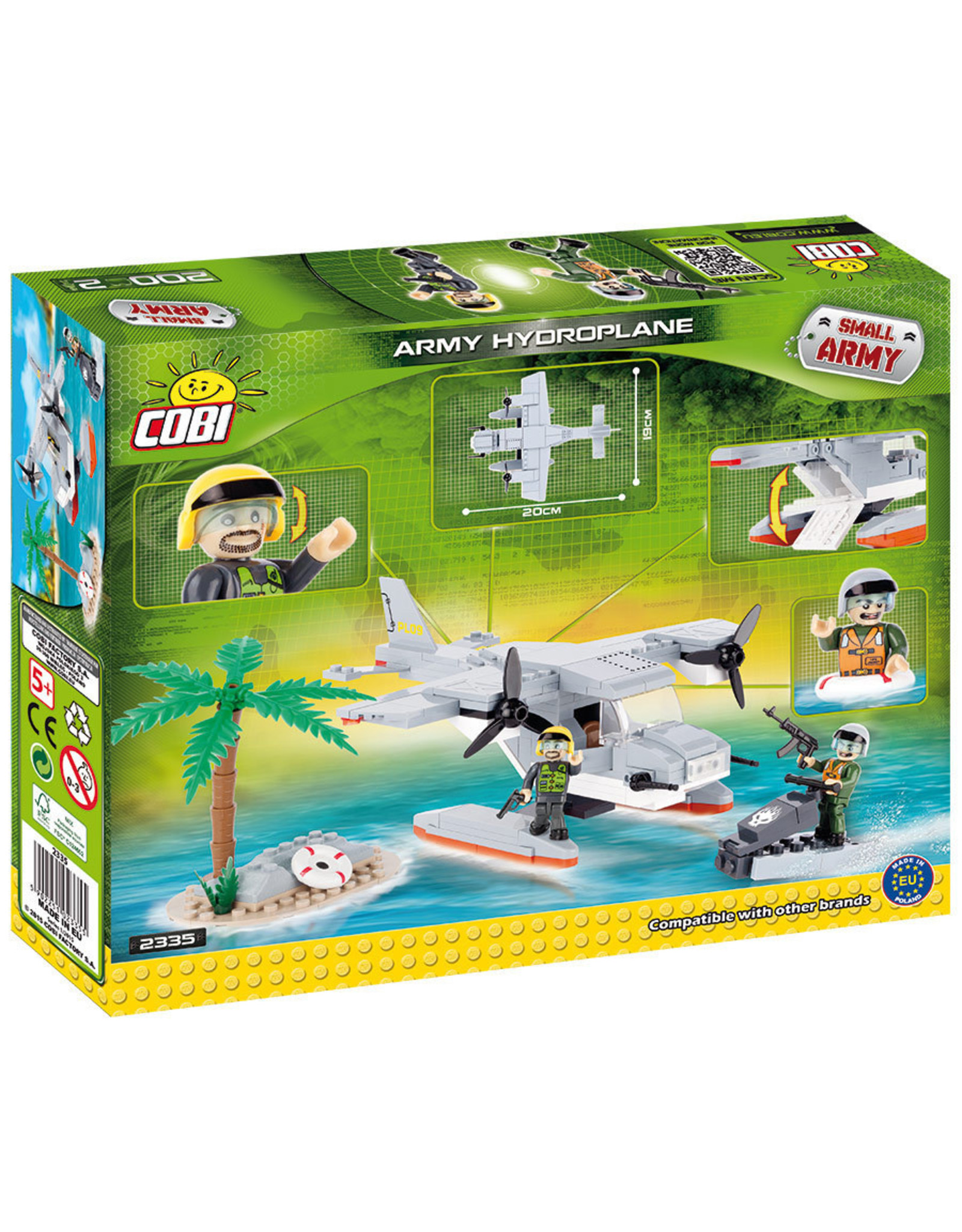 COBI COBI  2335 - Watervliegtuig