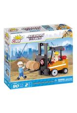 COBI COBI - Action Town 1668 - Forklift2