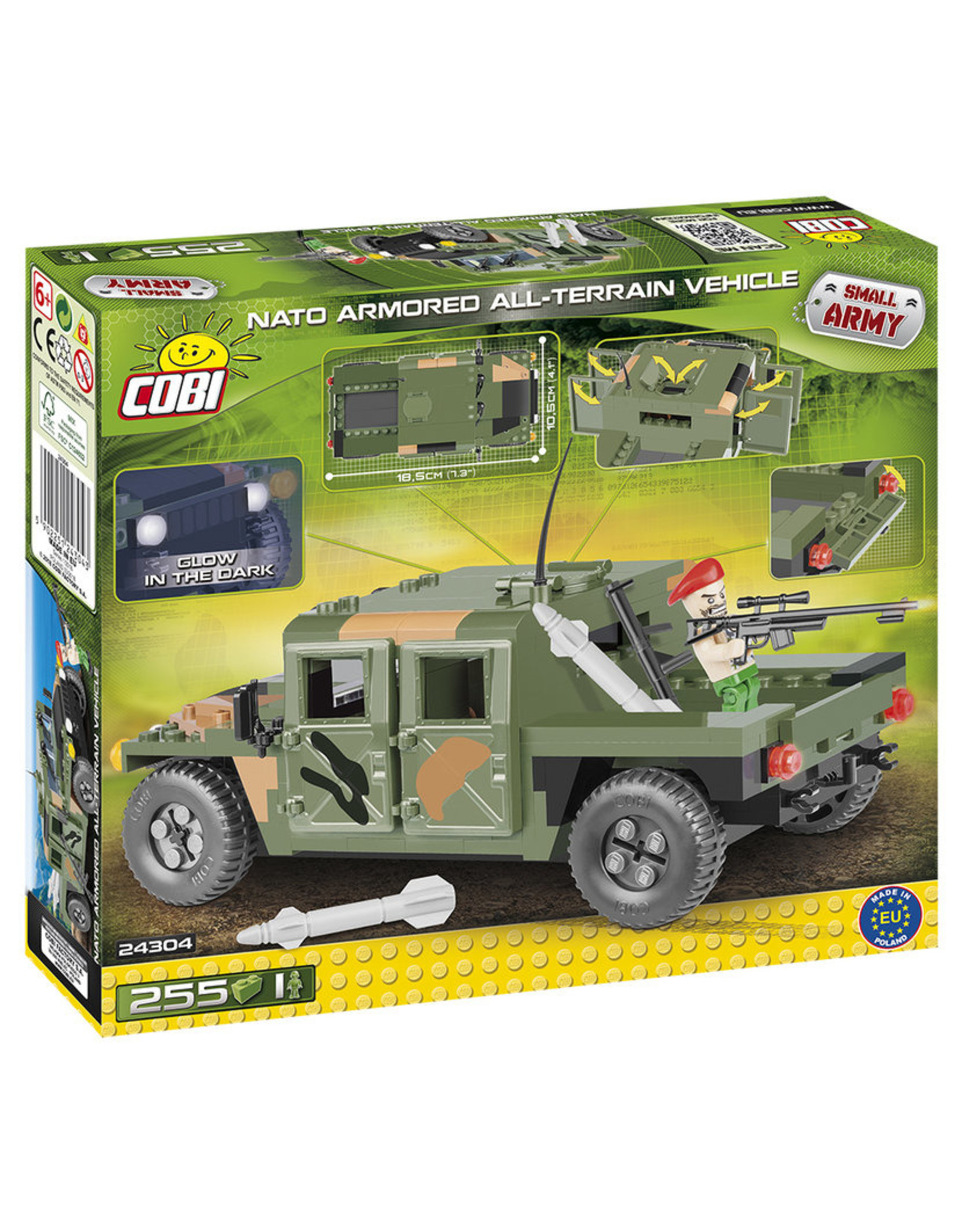 COBI COBI  24304 NATO AATV Camo